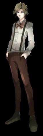 探偵 透過素材 表情差分 4カラー