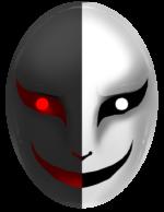 【アイテム・オブジェクト】怪しい仮面 透過素材 3パターン