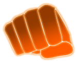 【エフェクト】拳エフェクト 透過素材 3カラー