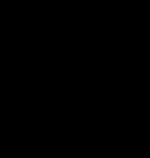 【オブジェクト】手書き文字「炎」 透過素材