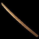 【アイテム・オブジェクト】木刀 透過素材 3カラー