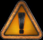 【オブジェクト・エフェクト】警告マーク 透過素材 3パターン