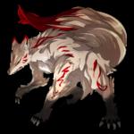 妖狐 透過素材 4パターン