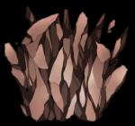 【アイテム・エフェクト】岩石エフェクト 透過素材 4パターン