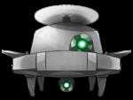 ドローン ロボット 透過素材 4カラー