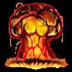 【エフェクト】大爆発 キノコ雲 透過素材 2パターン
