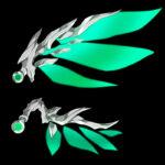 【アイテム・オブジェクト】機械の翼 透過素材 2パターン 2カラー