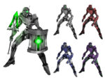 機械兵 ロボット 透過素材 9パターン