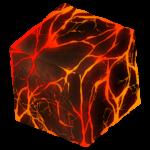 【アイテム・オブジェクト】マグマブロック 溶岩 透過素材 2カラー
