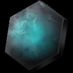【アイテム・オブジェクト】六角形チップ 透過素材 2パターン
