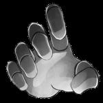 【アイテム・オブジェクト】機械の手 透過素材