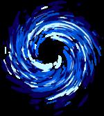 【エフェクト】渦エフェクト 透過素材 3カラー