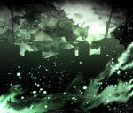 【背景】緑の背景